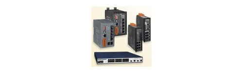 Switch-uri Ethernet cu management si fibra optica