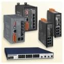 Switch-uri Ethernet cu management si fibra optica