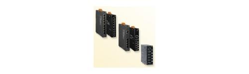 Switch-uri Ethernet PoE fara management cu fibra optica